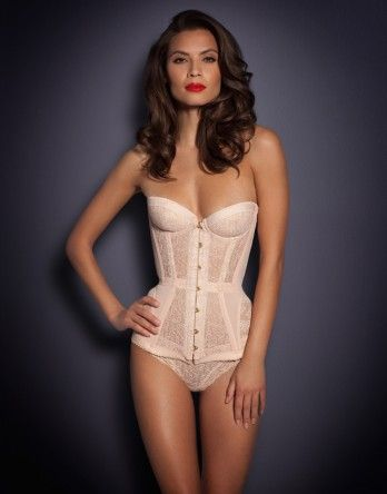 Mercy Corset http://www.weddingheart.co.uk/agent-provocateur---bridal-lingerie.html