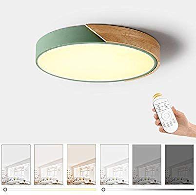 Ultra Dunne 5cm Led Deckenleuchte Mode Einfache Moderne Macarons Holz Bunte Runde Deckenlampe Fur Schlafzimmer Kuche Buro Wohnzimm Led Deckenleuchte Decke Led