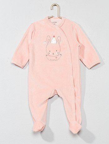 fffdf020f6 Bambina 0-36 mesi - Pigiama ricamato ciniglia - Kiabi | Babies ...