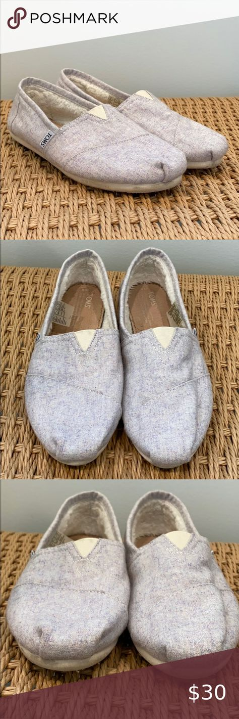 Toms Shoes 80% OFF!> Toms Light Purple Slide On Shoes Toms Light Purple Slide On Shoes. Size 8. One minor mark on one heel (see photo). Good condition other than that. Sherpa lined. Soles in good condition inside and out. Sherpa lining is clean. All offers are welcome! Toms Shoes Flats  Loafers #Toms #Tomsshoes #shoes #style #Accessories #shopping #styles #outfit #pretty #girl #girls #beauty #beautiful #me #cute #stylish #design #fashion #outfits #diy #design