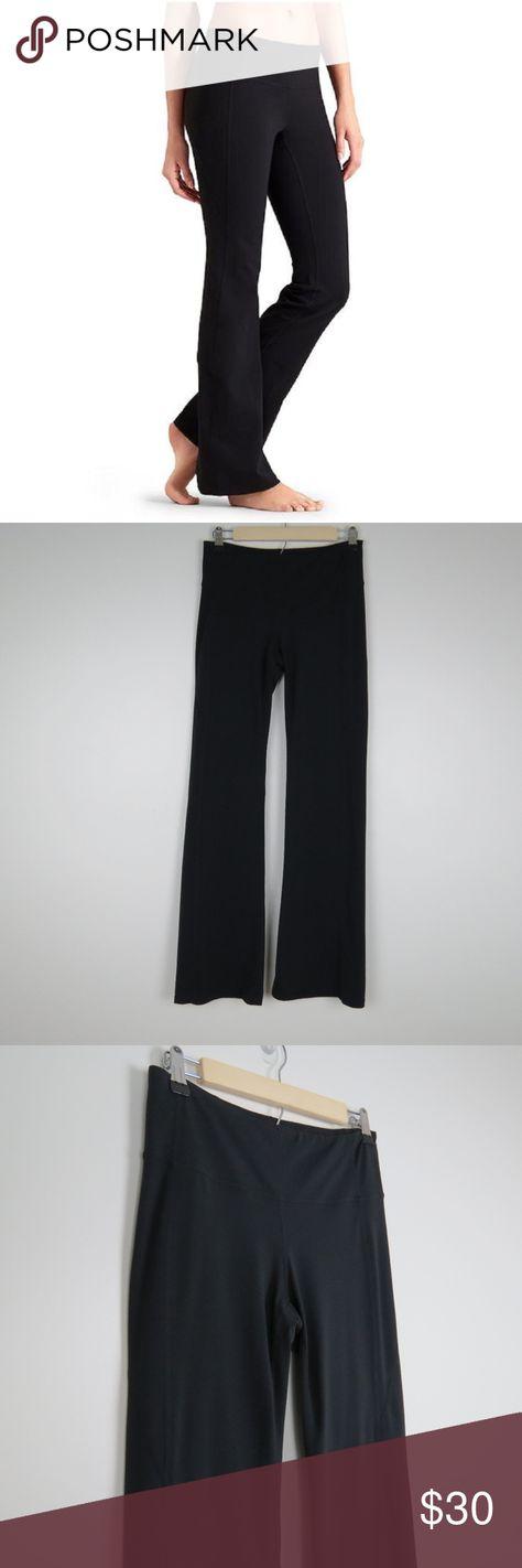 c5d2487d7c Athleta   Black Revelation Flare Yoga Pants Classic black flared yoga pants  with flat seams,