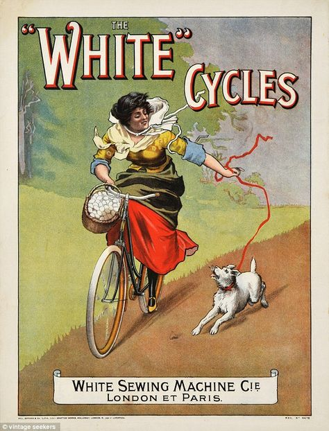 Glorious Victorian cycling posters from the 1800s and 1900s go on sale for the first time (after a 1925 bike ad sold for £20,145 at auction)
