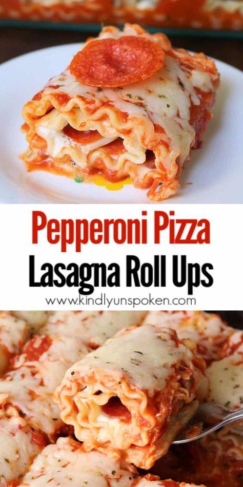 Easy Casserole Recipes, Pasta Recipes, Dinner Recipes, Cooking Recipes, Recipes With Lasagna Noodles, Lasagna Recipes, Skillet Recipes, Cooking Gadgets, Lasagne Roll Up