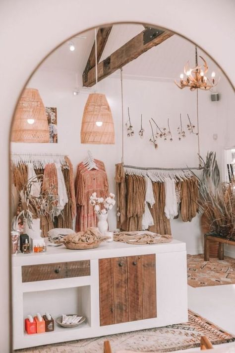 We Would Love to Step Inside The Spell Boutique l Spell & The Gypsy Collective Boutique Design, Boutique Decor, Boutique Stores, Boho Boutique, Boutique Ideas, Fashion Boutique, Boutique Store Front, Boutique Displays, Showroom Design