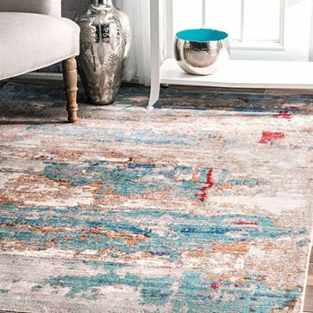 9x12 Abstract Area Rugs For The