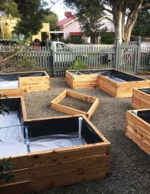 Raised Garden Beds Planters On Wheels Sub Irrigation Wicking System In Melbourne In 2020 Garden Beds Raised Garden Beds Raised Garden Beds Irrigation