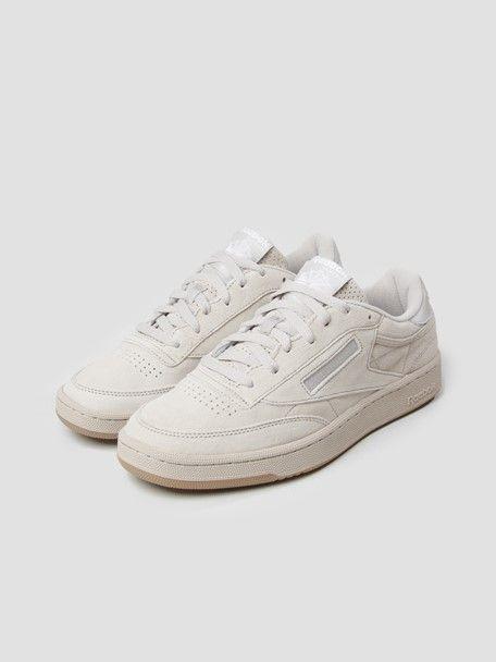 Reebok Club C 85 SG (Sand Stone White Gum) Casual