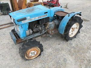 Mitsubishi D1300 4x4 Compact Diesel Tractor For Parts Or Repair Tractors Mitsubishi Repair
