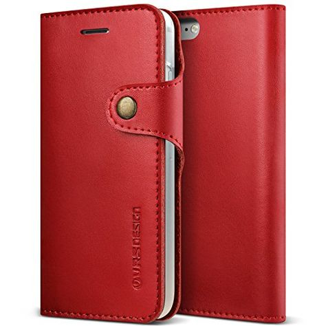 COVER APPLE IPHONE 7 E 8 Plus Leather Case Red Rosso Custodia