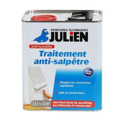 Traitement Anti Salpetre Julien Incolore 2 5l En 2020 Salpetre Traitement Et Julien