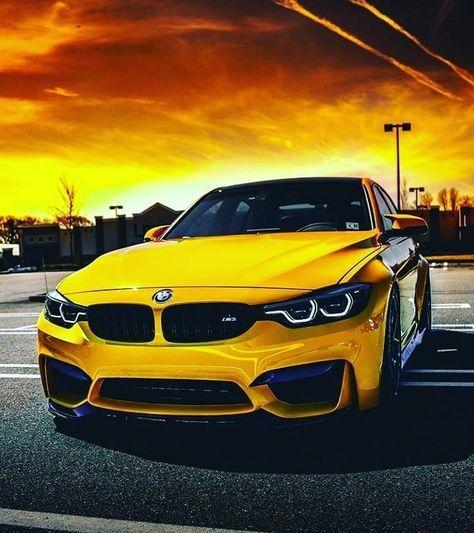 The Beautiful Yellow Bmw Bmw Yellow Bmw Bmw Cars