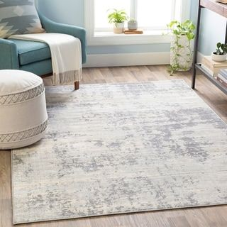 The Gray Barn Singing Prairie Industrial Abstract Area Rug Persiane Industriale