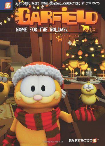 Garfield Co 7 Home For The Holidays Garfield Graphic Novels Cedric Michiels Jim Davis Ellipsanime Dargaud Media 9781597 Garfield Holiday Books Noel