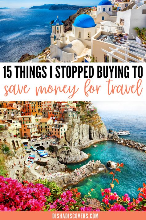15 Unnecessary Expenses to Cut so You Can Afford to Travel - Do you want to travel more, but money is stopping you? Here are 15 unnecessary expenses you are wasting your money on that you can save for travel. #traveltips #savemoneyfortravel #traveltipsandtricks #travelhacks #travelbudget #travelbudgettips #travelbudgetsavingmoney #traveltipsmoney Solo Travel Tips, Travel Advice, Travel Hacks, Travel Deals, Travel Guides, Travel Destinations, Cheap Travel, Budget Travel, Travel Photographie