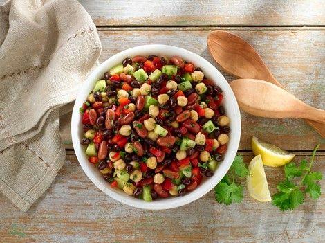 Quick Mixed Bean Salad Recipe Mixed Bean Salad Recipes Bean Salad Bean Salad Recipes