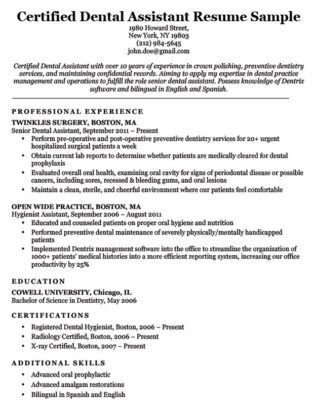 Dental Assistant Cover Letter Sample Resume Companion | Best ...