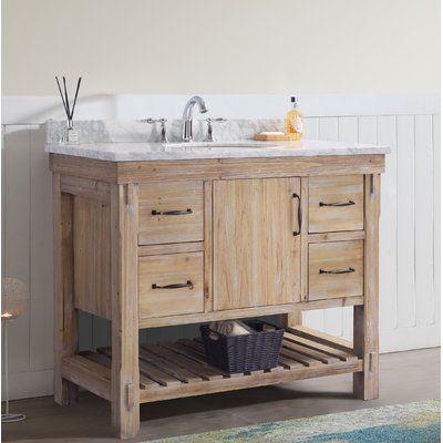 44+ Solid wood bathroom vanity 42 inch custom