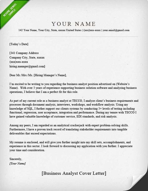 Pin by Ahmad sanni on Sample resume cover letter | Sample ...