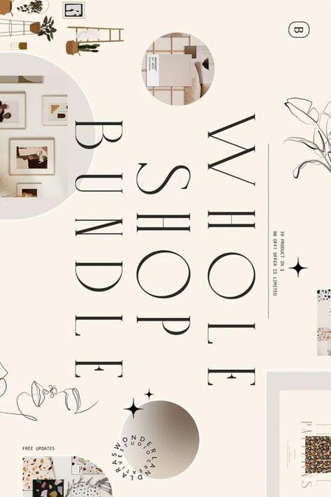 Whole Shop Graphics BUNDLE 39 in 1