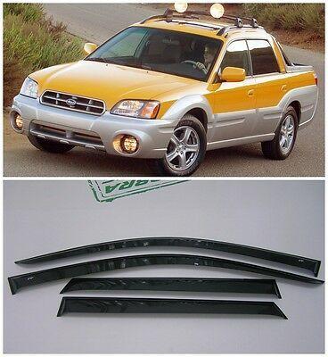 Subaru Baja 2002 2003 2004 2005 2006 How To Install Window Deflectors E Very Problem Has A Solution Mark The Position For Fastening Subaru Baja Subaru Baja