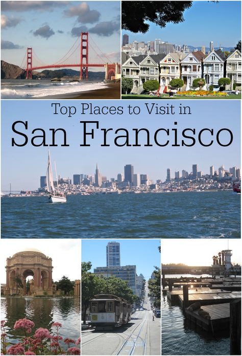 Top Places to Visit in San Francisco, California. Discover our favorite iconic spots in this famous city when traveling along or with family in San Francisco.