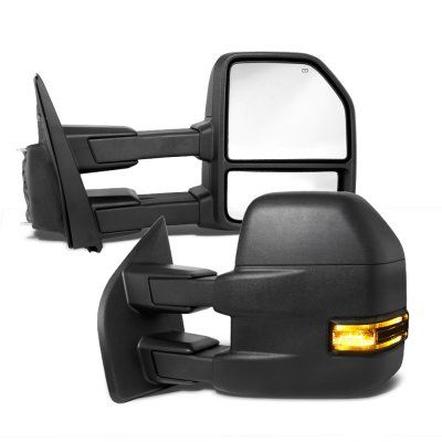 Ford F150 2009 2014 New Towing Mirrors Power Heated Smoked Led Signal Puddle Lights In 2020 Ford F150 Towing Mirrors F150