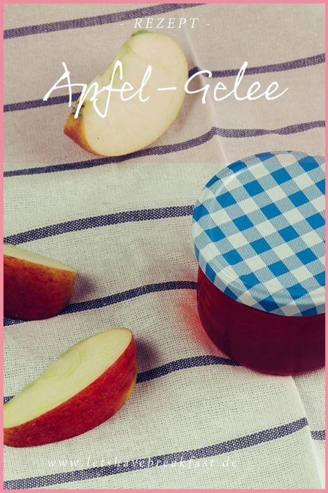 Gelee aus Äpfeln