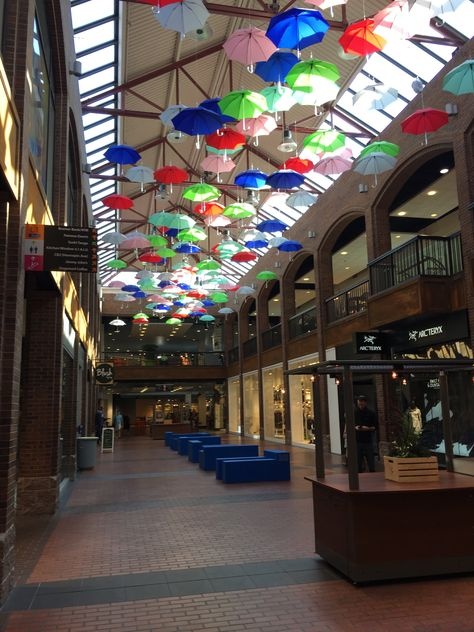 Calhoun Square, MSP   compliments of Jewels  | umbrellas