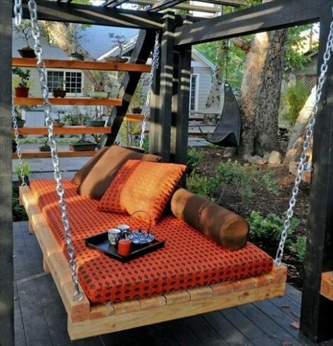 33 Pallet Swings – Chair, Bed and Bench Seating Plans | Pallet Furniture DIY