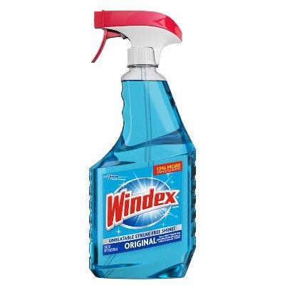 Windex Glass Cleaner Original Blue 26 Fl Oz Glass Cleaner Windex Best Glass Cleaner