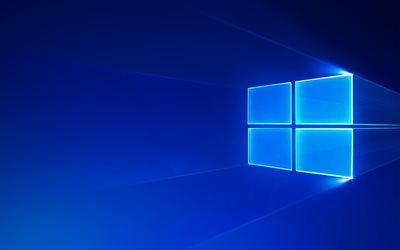 Descargar Fondos De Pantalla Windows 10 Neon Azul Logo Un Sistema Operativo Moderno Emblema Logotipo De Windows Besthqwallpapers Com Fondo Windows Fondos Pantalla Windows 10 Windows 10