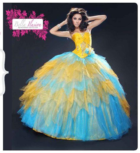Bella Sera Quince Dresses 2012