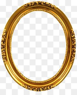 Free Download Picture Frames Gold Oval Decorative Arts Ornament Mirror Png Gold Frame Photo Frame Gallery Frame Clipart