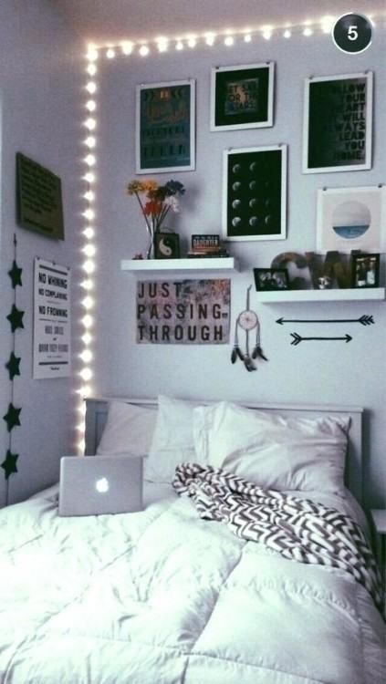 Cool Girl S Bedroom Ideas Dorm Room Decor Small Room Bedroom