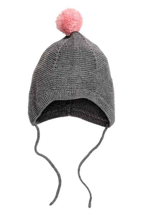 22264baac Pletená bavlnená čiapka | adelka | Cotton hat, Girls clothes shops ...