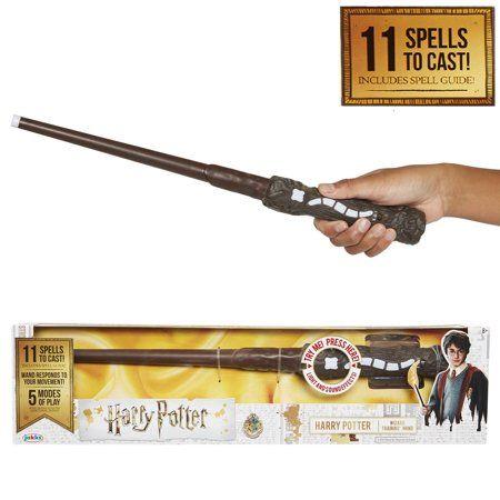 Harry Potter S Wand Interactive Wizard Training Wand Walmart Com Harry Potter Wand Dumbledore Wand Harry Potter Wizard