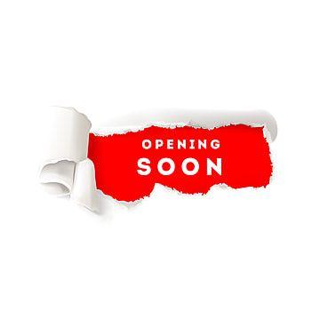 الافتتاح الكبير قريبا على الورق الممزق متجر افتح مفتوح كبير Png والمتجهات للتحميل مجانا Torn Paper Geometric Pattern Background Grand Opening