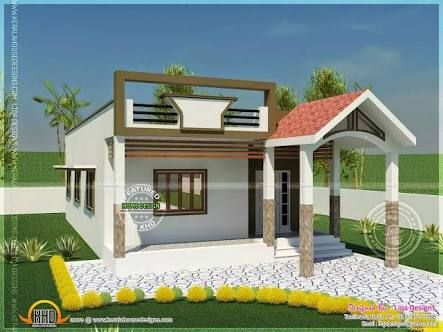 Image Result For Small House With Car Parking Construction Elevation House Front Design Small House Design Plans Small House Design