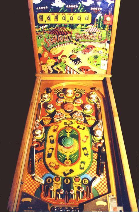 "1953 Struggle Buggies""Williams ""Pinball Machine"