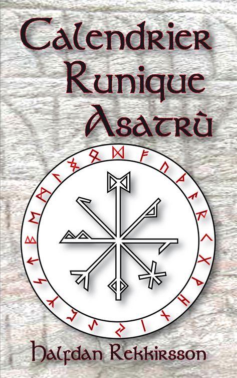 Vikings Calendrier.Calendrier Runique Asatru De Halfdan Rekkirsson Collection