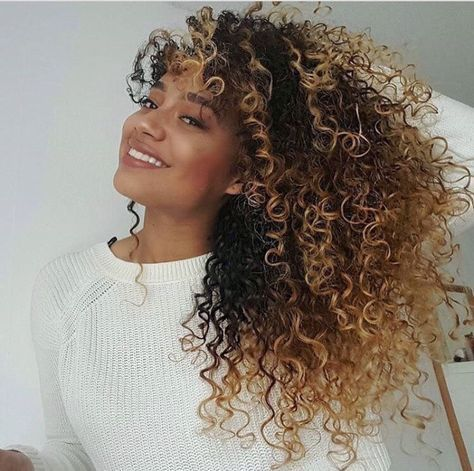 Image Result For Black Girls With Curly Blonde Curly Hair Styles