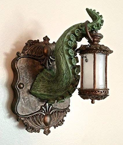 la qualité d'abord sélection premium États Unis Amazon.com: Tentacle Lantern Wall Plaque with LED Light ...