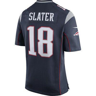 Sponsored - New England Patriots - Matthew Slater #18 Nike Men's ...