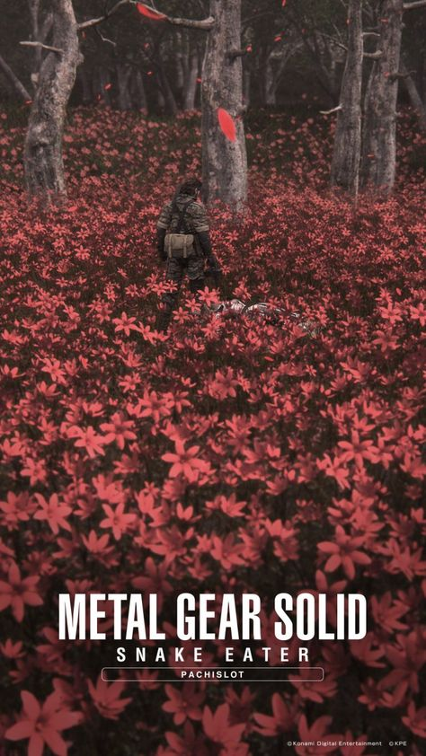 Official Metal Gear Solid Snake Eater Pachislot wallpapers released – Metal Gear Informer