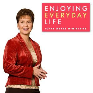 Joyce Meyer's Enjoying Everyday Life program can be seen daily, Monday through Friday on TCT at 7:30a/6:30c and at 12:30p/11:30c. #JoyceMeyer #EnjoyingEverydayLife