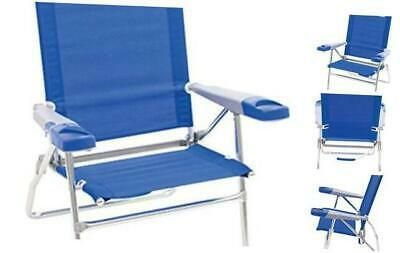 Rio Beach 15 Extended Height 4 Position Folding Patio Chairs Outdoor Chairs Folding Beach Chair