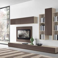 Contemporary Wall Units For Tv | This For All | Living Room ...