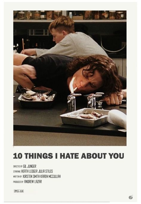 minimal movie posters 10 things i hate about you