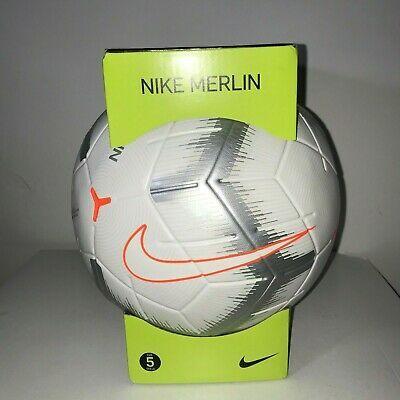 Advertisement Ebay Nike Merlin Quick Strike Official Match Soccer Ball Omb Size 5 Sc3493 100 Soccer Ball Soccer Premier League Soccer