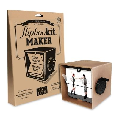 The newest member of the FlipBooKit family is the easiest and quickest to assemble! The MAKER kit comes with blank cards for custom flip book animations. Arts And Crafts Storage, Diy Arts And Crafts, Craft Storage, Crafts For Teens, Crafts To Make, Paper Crafts, Diy Crafts, Wine Bottle Crafts, Mason Jar Crafts